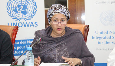 Amina J Mohamed, Deputy Secretary General (DSG) of the United Nations