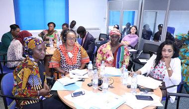 Session de formation des femmes du Groupe de Travail, Femmes, Jeunes, Paix et Sécurité en Afrique de l'Ouest et le Sahel. 24 juin 2019 à Dakar. Photo: UNOWAS CPIO