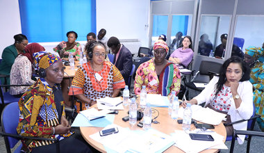 Training session for women from the Working Group, Women, Youth, Peace and Security in West Africa and the Sahel. June 24, 2019 in Dakar. Photo: UNOWAS CPIO