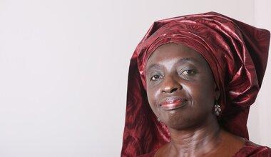 Dr. Siga Fatima Jagne, Commissaire des Affaires sociales et du Genre de la commission de la Communauté Economique des Etats de l'Afrique de l'Ouest (CEDEAO)