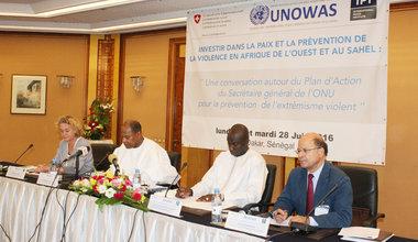 Investir dans la Paix et la Prévention de la Violence en Afrique de l'Ouest et au Sahel, Dakar 27 Juin 2016
