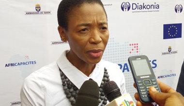 Metsi Makhetha, Coordonnatrice résidente de l'ONU au Burkina Faso