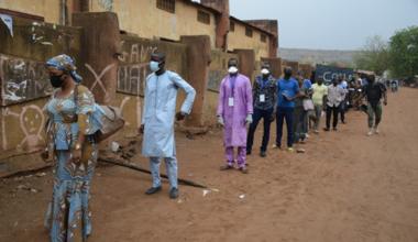 Malgré la menace COVID-19, plus de 7 millions d'électeurs maliens ont été appelés le 29 mars 2020 à choisir leurs 147 membres de l'Assemblée nationale malienne lors du premier tour des élections législatives à travers le pays. Photo: MINUSMA