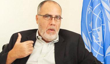 M. Pierre Lapaque, Représentant Régional de l'ONUDC