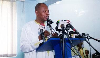 SRSG Mohamed Ibn Chambas, Accra 17 June 2016