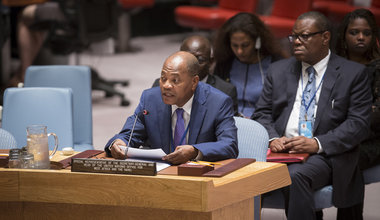 SRSG Mohamed Ibn Chambas briefing to the Security Council on UNOWAS activities - 11 July 2016 in New York