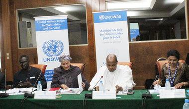 Comité de pilotage de la Stratégie intégrée des Nations Unies pour le Sahel (SINUS), le 27 octobre à Dakar.