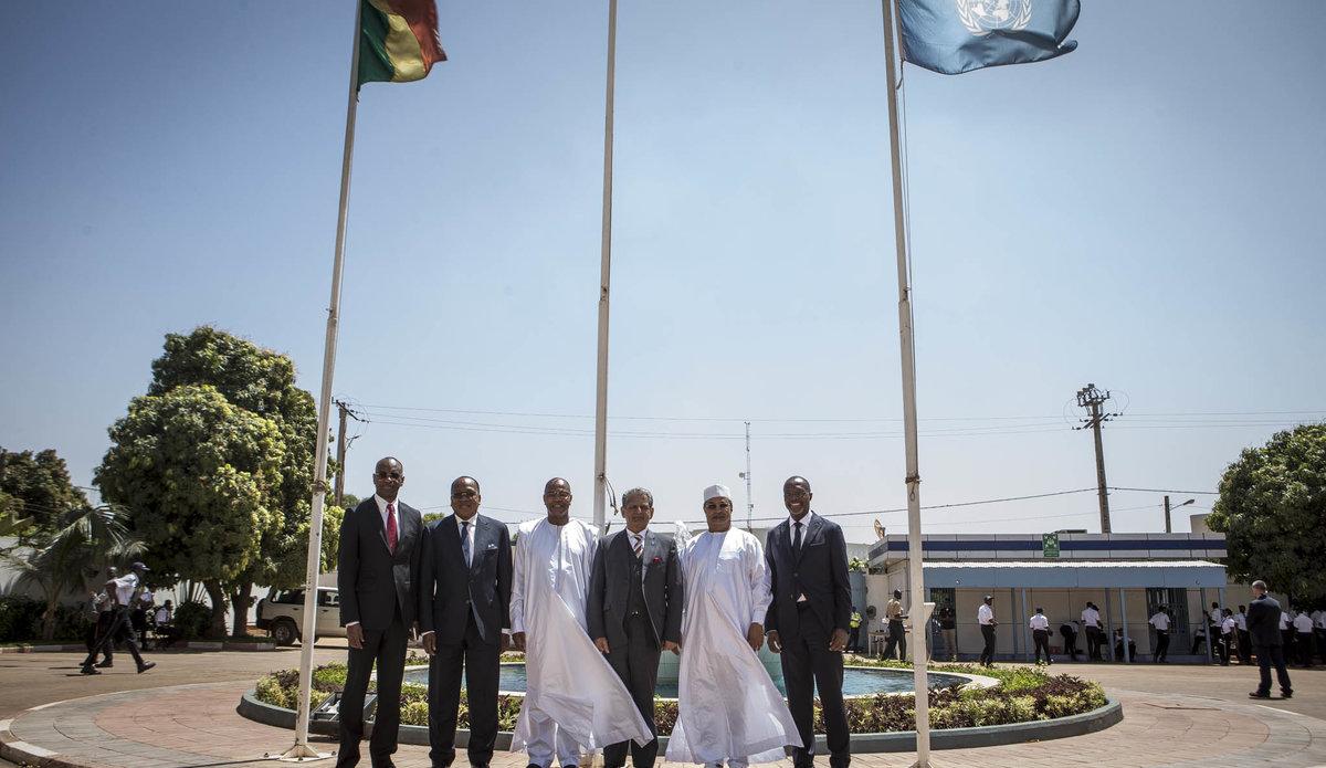 Réunion des représentants spéciaux du Secrétaire général de l'ONU en l'Afrique de l'Ouest. Bamako, le 5 mars 2018.