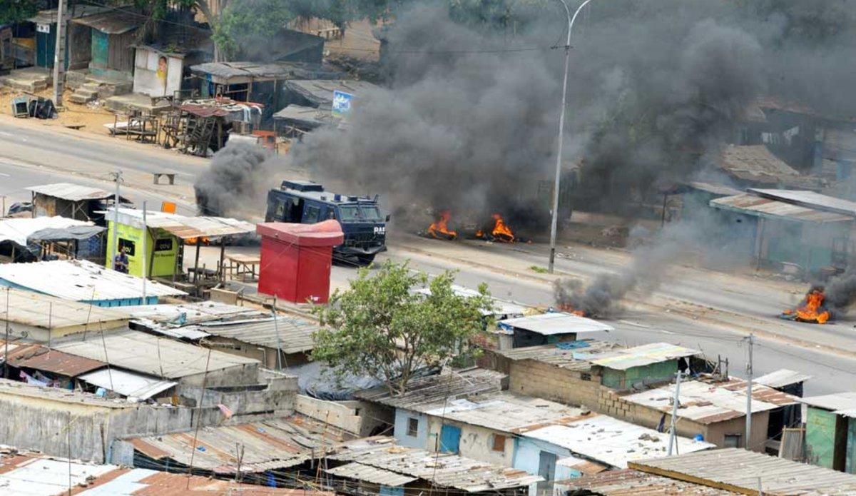 Violences électorales en Côte d'Ivoire en 2011. © UN