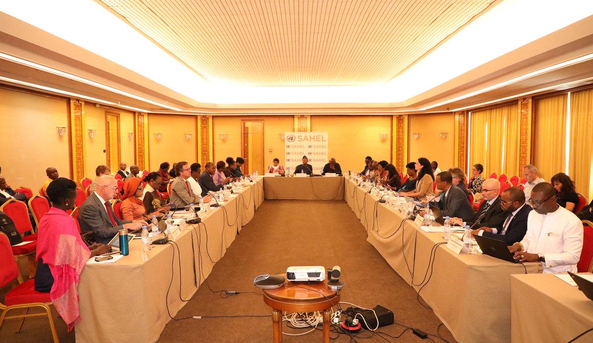 9eme Réunion du Comité de Pilotage de la Stratégie Integrée des Nations Unies pour le Sahel (SINUS), le 21 Octobre 2019 à Dakar.