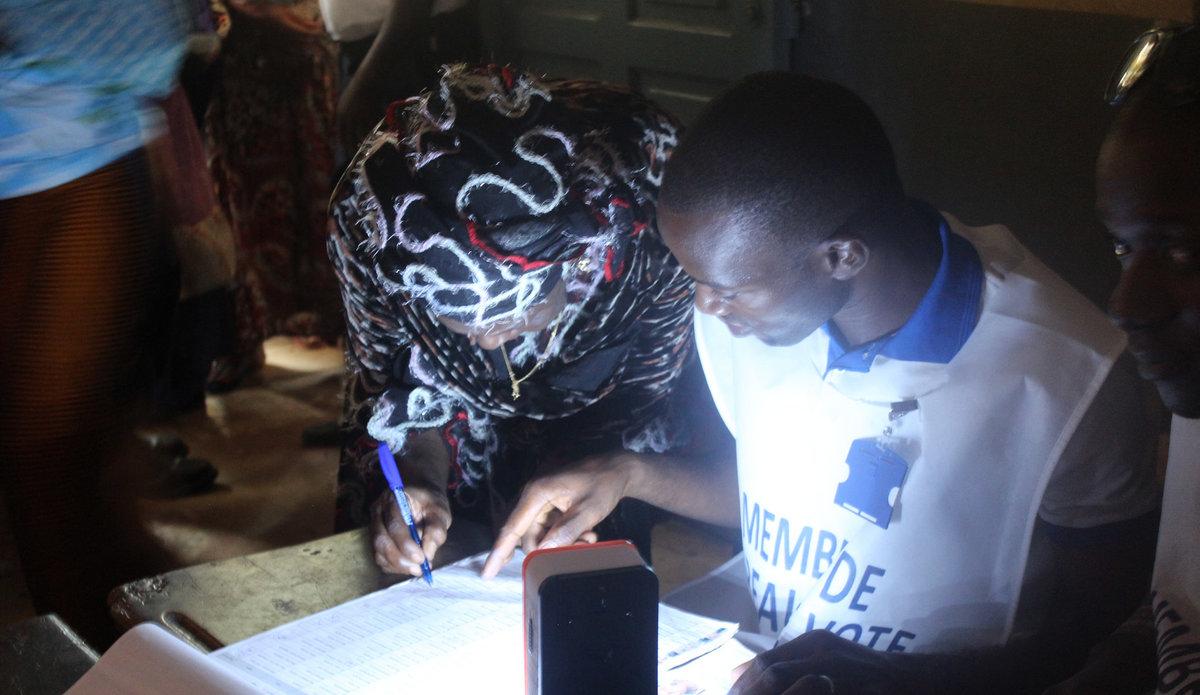 Election présidentielle en Guinée, le 11 octobre 2015