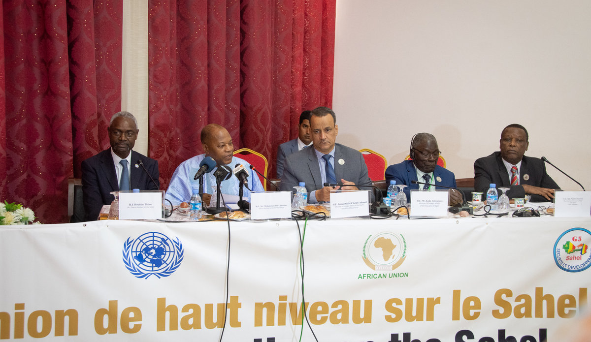 Réunion de haut niveau sur le Sahel, Nouakchott - 30 juin 2018