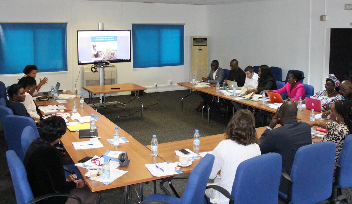 Réunion UNOWAS-CEDEAO desk-to-desk, 5 Septembre 2018 à Dakar.