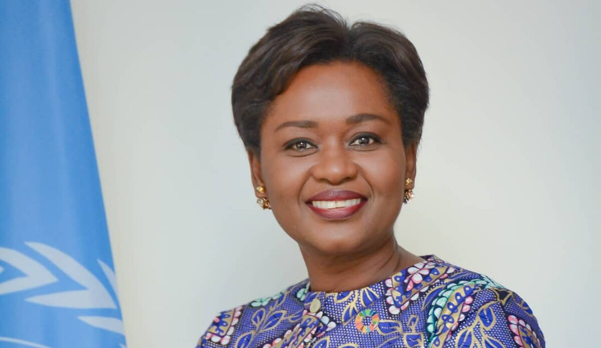 Ms. Oulimata Sarr, Regional Director for West and Central Africa of the United Nations Entity for Gender Equality and the Empowerment of Women, UN Women