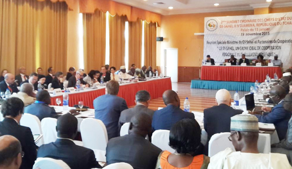 G5 Sahel summit in Ndiamena - Chad, 19 November 2015