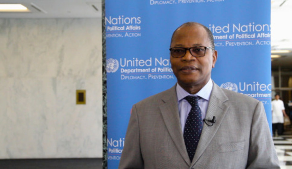 Special Representative for West Africa and the Sahel, Mohamed Ibn Chambas. UN Photo