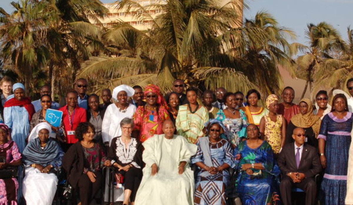 Celebration of the International Women Day, 08 March 2016 in Dakar