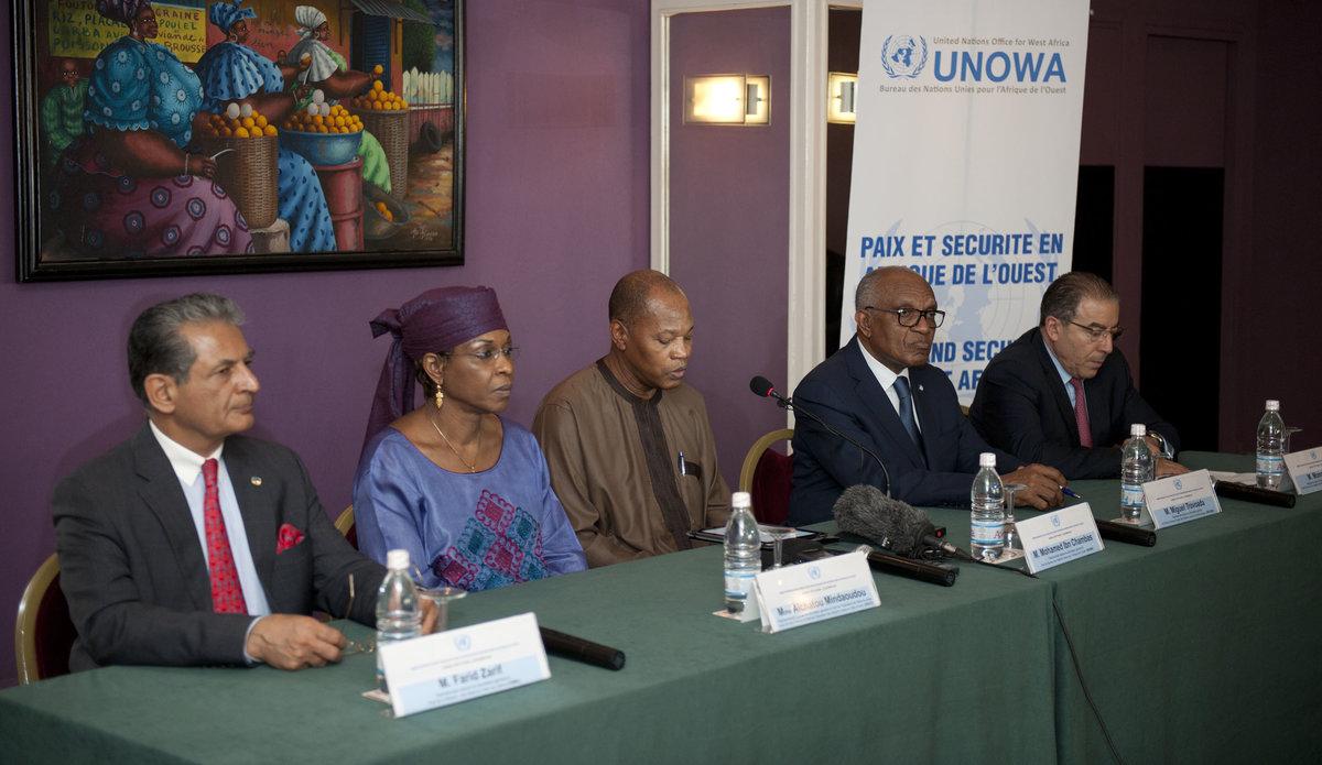 West Africa's SRSGs Meeting in Dakar, 11 December 2015