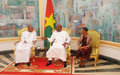 Mohamed Ibn Chambas reaffirms UN support to Burkina Faso and G5 Sahel countries