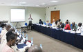 « Crosscutting issues in peace operations » at the heart of a training in Dakar