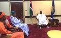 Mohamed Ibn Chambas se félicite de la détermination du gouvernement à faire avancer le processus de réforme (ENG)