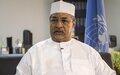 Annadif Khatir Mahamat Saleh, New Special Representative