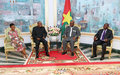 Mohamed Ibn Chambas meets with President Roch Marc Christian Kabore