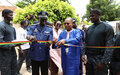 UNOWAS OFFERS THREE CONTAINERS TO THE NATIONAL GENDARMERIE OF SENEGAL (FR)