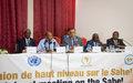 Communiqué sur la Réunion de haut niveau sur le Sahel, Nouakchott