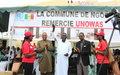 UNOWAS offre six containeurs a la commune de Ngor pour aider a l'amelioration de l'environnement