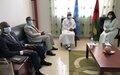 SRSG ANNADIF visit to Guinea-Bissau