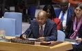 Briefing de M. Mohamed Ibn Chambas au Conseil de Sécurité sur les récents développements en Afrique de l'Ouest et au Sahel