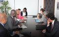 M. Ibn Chambas a rencontré  Mme Audrey Azoulay,  la nouvelle directrice de l'UNESCO