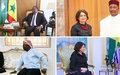 La Secrétaire Générale Adjointe aux Affaires Politiques et à la Consolidation de la Paix conclut sa visite dans cinq Etats de l'Afrique de l'Ouest