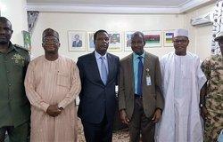 Les Représentants de MISAHEL et d'UNOWAS avec la FMM au Tchad