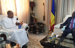 SRSG Ibn Chambas meet with the Prime Minister of Chad, Mr. Albert Pahami Padacke, N'Djamena, 30 May 2016