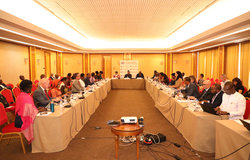 9th Meeting of the Steering Committee of the United Nations Integrated Strategy for the Sahel (UNISS), 21 October 2019 in Dakar.