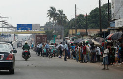 Scène de rue à Conakry, la capitale de la Guinée. Photo Banque mondiale