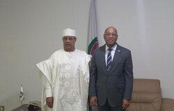 SRSG ANNADIF and Jean-Claude-Kassi-Brou, ECOWAS