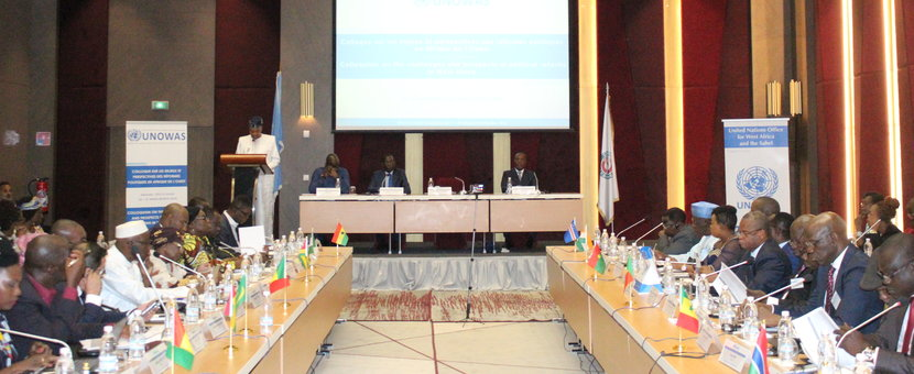 Colloque régional de haut niveau sur les défis et les perspectives des réformes politiques en Afrique de l'Ouest (2015 – 2017). Abidjan, Côte d'Ivoire - 26 Mars 2018.