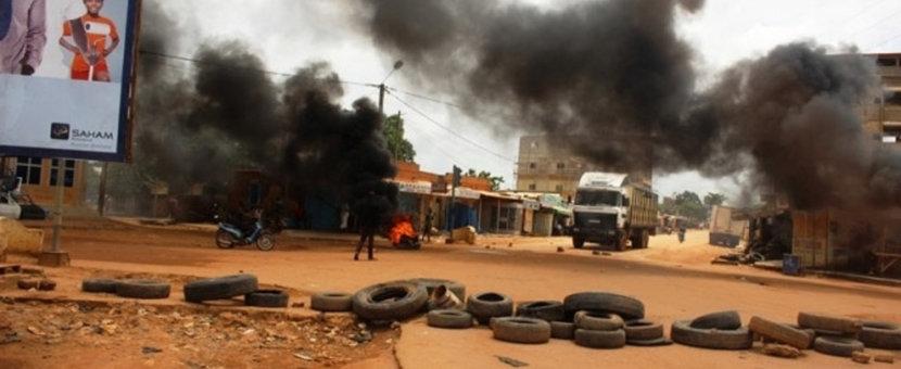 Burkina Faso. 2015