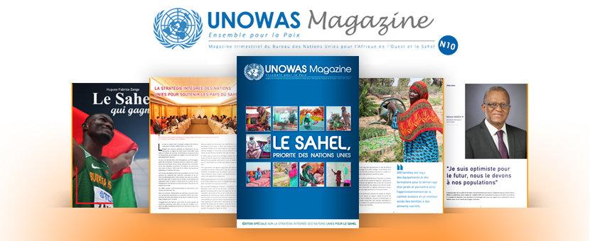 UNOWAS Magazine #10 (Fev 2020) : Edition spéciale sur la Stratégie Intégrée des Nations Unies pour le Sahel
