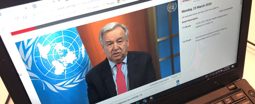 Le chef de l'ONU appelle à un cessez-le-feu mondial pour se concentrer sur «le vrai combat de nos vies»
